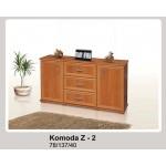 Zet 2 Komoda 137 cm