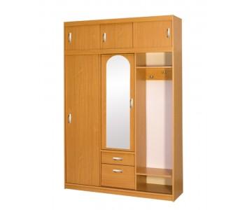 Garderoba AM – Szafa Aleksander 1,5 m z lustrem 150x220