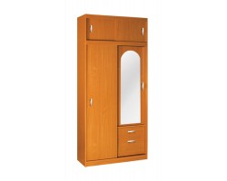 Garderoba AM – Szafa Aleksander 1 m z lustrem 100x220