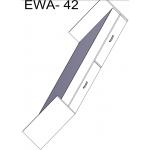 Ewa - Łóżko 90x200 z materacem (E - ŁOŻE 42)