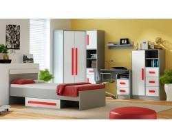 GIT - Sypialnia czerwień