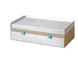 NICO - Łózko 90 bez materaca z pojemnikami (14)