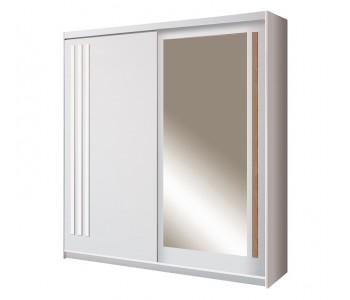 EFFECT - Szafa przesuwna z lustrem 150 x 215  (EF-1-150)
