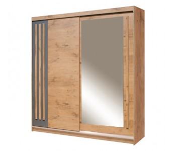 EFFECT - Szafa przesuwna z lustrem 150 x 215   (EF-4-150)