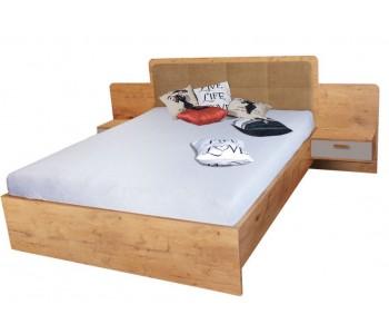 EFFECT - Łóżko 160  cm bez materaca bez pojemnika (EF4)