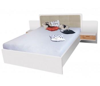 EFFECT - Łóżko 160  cm bez materaca bez pojemnika (EF1)