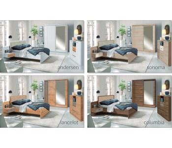 EFFECT - Sypialnia z materacem