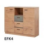 EFFECT - Łóżko 160  cm z materacem bez pojemnika (EF1)