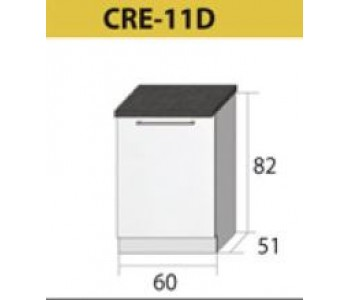 Kuchenna szafka dolna CREATIVA-11D (60) ZLEW
