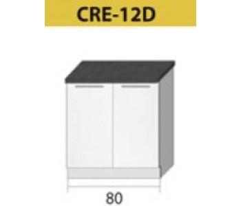 Kuchenna szafka dolna CREATIVA-12D (80) ZLEW