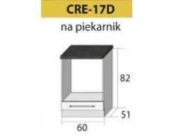 Kuchenna szafka dolna CREATIVA-17D (60) NA PIEKARNIK