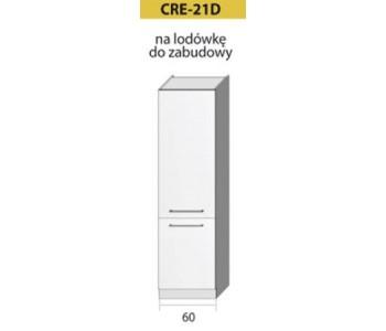 Kuchenna szafka wysoka CREATIVA-21D (60) lodówka