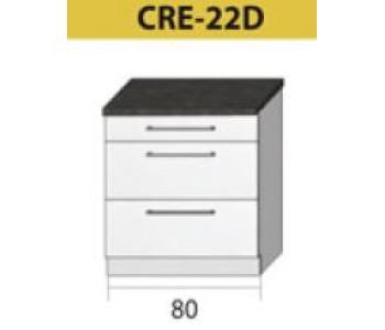 Kuchenna szafka dolna CREATIVA-22D (80)
