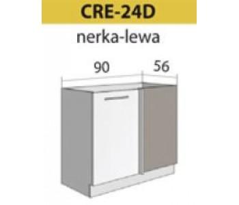 Kuchenna szafka dolna narożna lewa CREATIVA-24D (90/56)