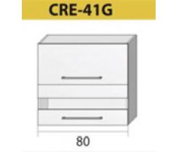 Kuchenna szafka górna z szybą CREATIVA-41G (80)