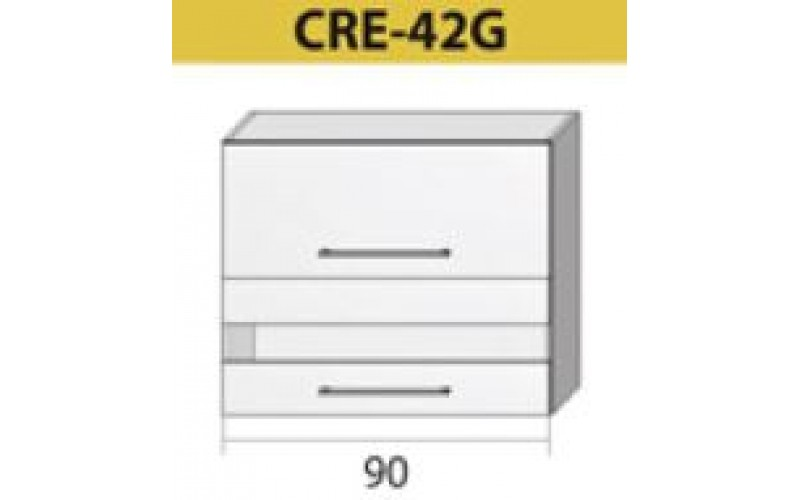 Kuchenna szafka górna z szybą CREATIVA-42G (90)
