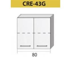 Kuchenna szafka górna CREATIVA-43G (80)
