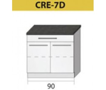 Kuchenna szafka dolna CREATIVA-7D (90)