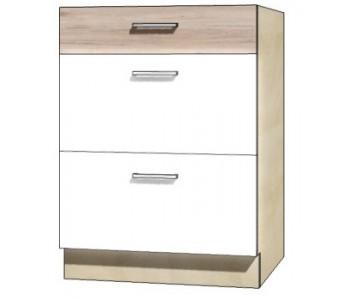 "ECONO - Kuchenna szafka dolna z szufladami ECO-10D ""60"""