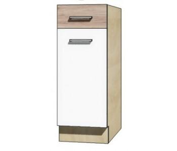 """ECONO - Kuchenna szafka dolna z szufladą i półką ECO-1D """"30"""""""