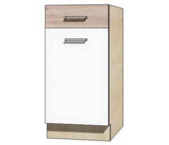 """ECONO - Kuchenna szafka dolna z szufladą i półką ECO-2D """"40"""""""