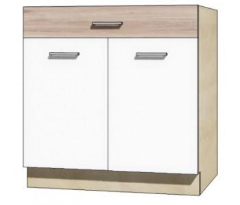 """ECONO - Kuchenna szafka dolna z szufladą i półką ECO-6D """"80"""""""