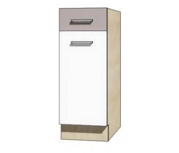 """GLOBAL - Kuchenna szafka dolna z szufladą i półką GLO-1D """"30"""""""