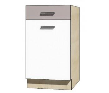 """GLOBAL - Kuchenna szafka dolna z szufladą i półką GLO-3D """"45"""""""