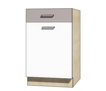 """GLOBAL - Kuchenna szafka dolna z szufladą i półką GLO-4D """"50"""""""