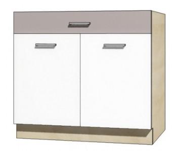 """GLOBAL - Kuchenna szafka dolna z szufladą i półką GLO-7D """"90"""""""