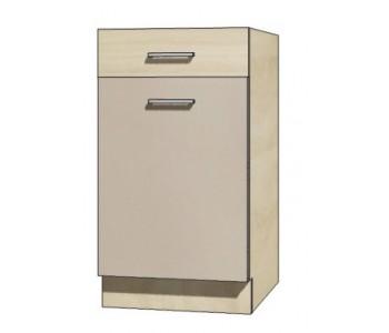 """PREMIO - Kuchenna szafka dolna z szufladą i półką PRE-3D """"45"""""""