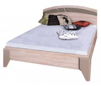 DOME - Łóżko 160 (DL2-1) bez szafek bez materaca