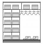 DOME - Szafa przesuwna 200 x 216 2D (DO3-20)