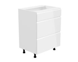 ASPEN – Szafka dolna z szufladami 60 cm (D60S3)
