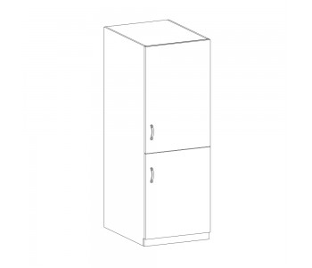 LUNA GM – Kuchenna szafka wysoka na lodówkę do zabudowy 60 (D60ZL)