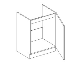 PROWANSJA GM – Kuchenna szafka zlewozmywakowa 60 (D60ZP)