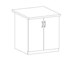 PROWANSJA  GM – Kuchenna szafka dolna (D80)