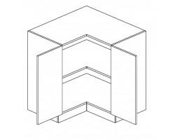 ROYAL – Kuchenna szafka dolna narożna 90 (D90N)