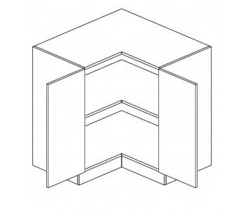 LUNA GM – Kuchenna szafka dolna narożna 90 (D90N)
