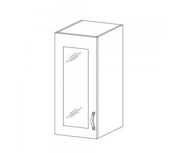 SYCYLIA GM – Kuchenna szafka wisząca 30 ze szkłem (G30S)