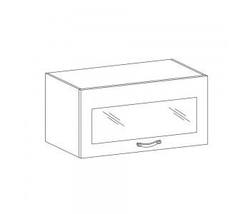 SYCYLIA GM – Kuchenna szafka wisząca 60 ze szkłem (G60KSN)