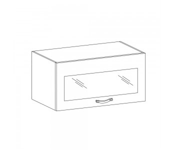 LUNA GM – Kuchenna szafka wisząca 60 ze szkłem (G60KSN)