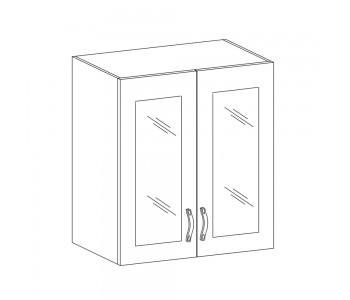 SYCYLIA GM – Kuchenna szafka wisząca 60 ze szkłem (G60S)