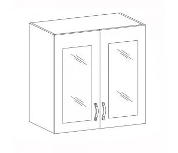 SYCYLIA GM – Kuchenna szafka wisząca 80 ze szkłem (G80S)