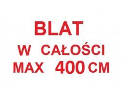 Blat w całości LEFKAS - ASPEN - max 400 cm - 1 cm bieżący