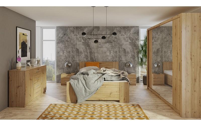 Zestaw do sypialni BONO | Cztery kolory