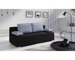 IWA Sofa Czarna 196 x 87