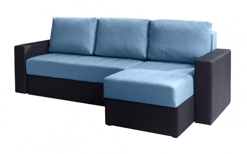 CALABRINI - Narożnik niebieski 233 x 140