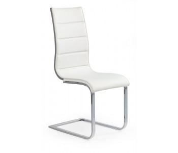 K104 krzesło białe - białe