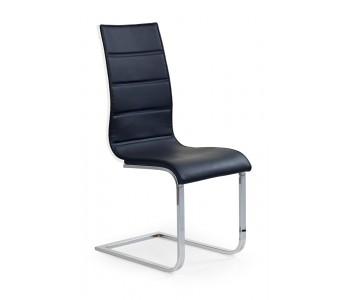 K104 krzesło czarny - biały